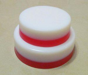 Две формы круглые разных диаметров