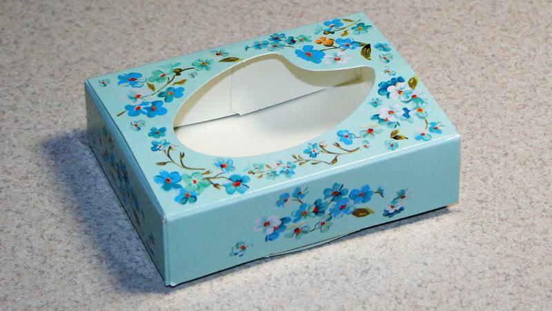 Специальные коробочки для упаковки мыла