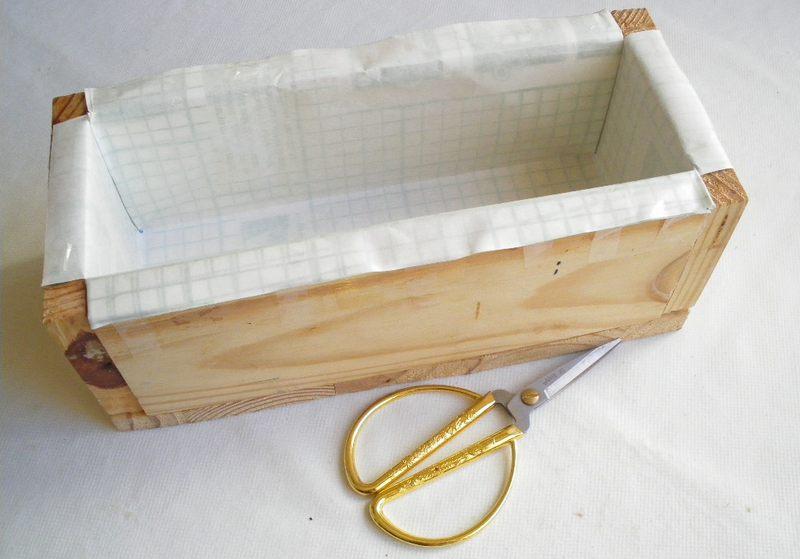 Форма для мыла деревянная