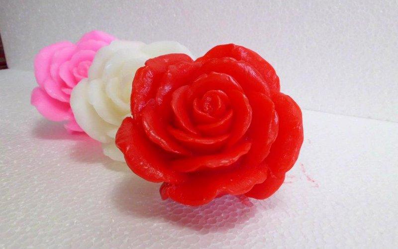 Рецепт мыла из основы — «торт с розами»